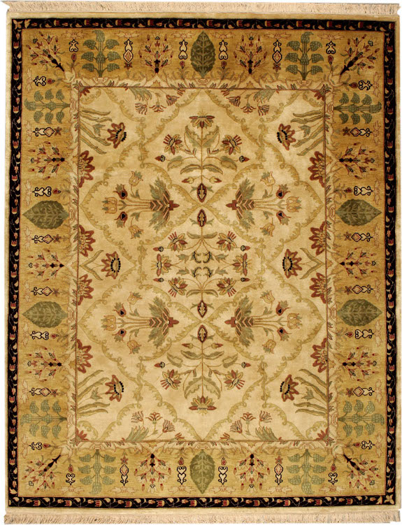 104-Lahore Ivory/Gold